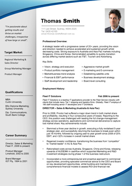 Experienced Pro Promotional Rate (RRP $80)  What Does A Professional Resume Look Like
