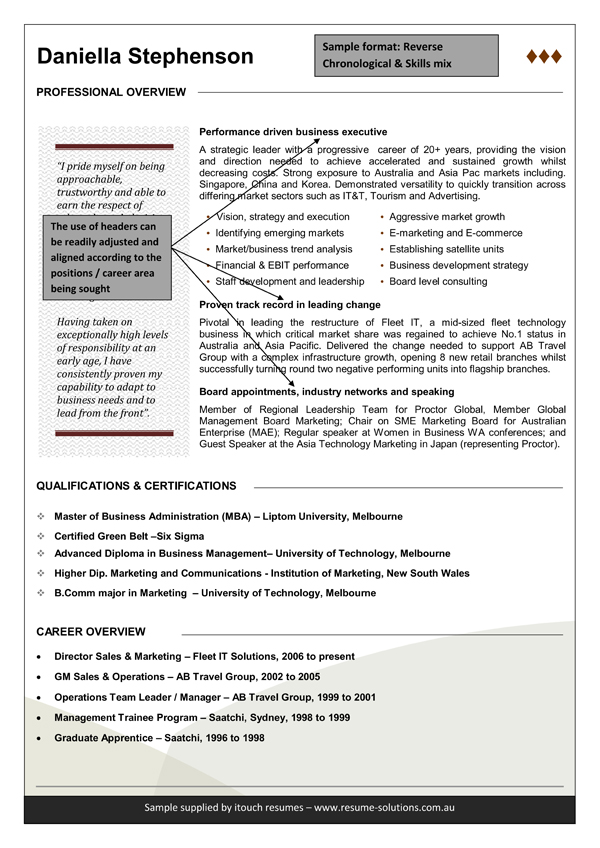 Functional Resume Template Australia.Download Functional Resume Template Example