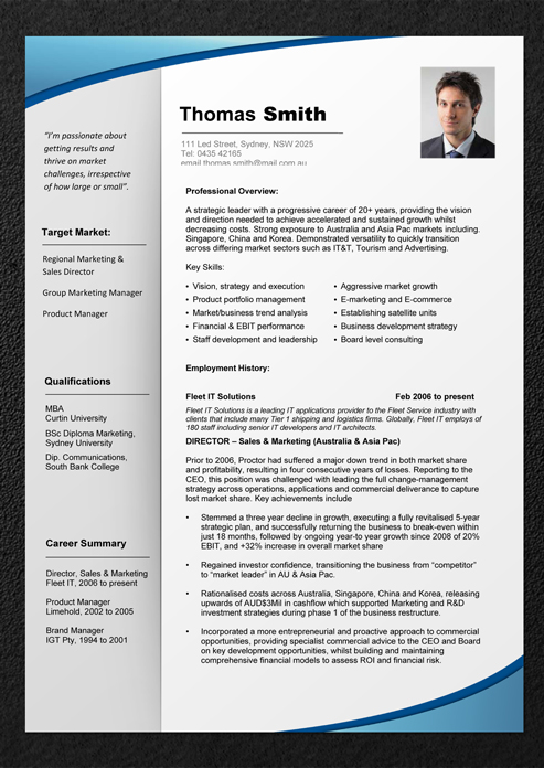 download the experienced pro resume template