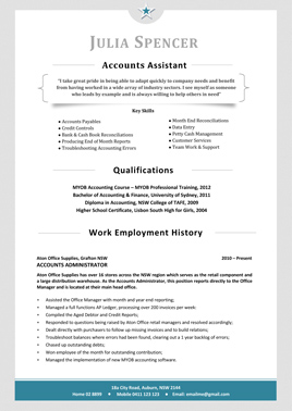 resume template 3