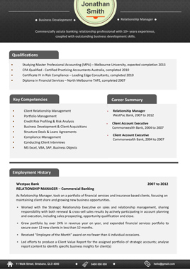 sample resume template 5